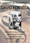 Concert de Proximitat a càrrec de David Fonseca